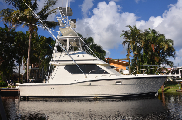 Used Hatteras Sports Fishing Boat For Sale