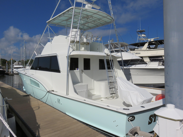 Used Hatteras 53 Sport Fish Sports Cruiser Boat For Sale