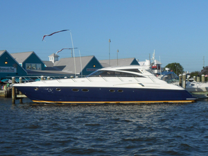 Used Princess V58 Express Cruiser Boat For Sale
