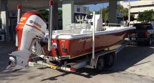 Used Seahunter 24 Saltwater Fishing Boat For Sale