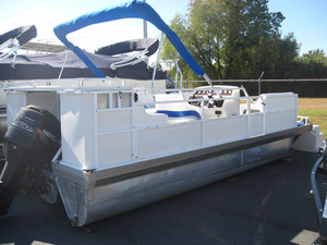 Used Jc Pontoon Tritoon 226 Pontoon Boat For Sale