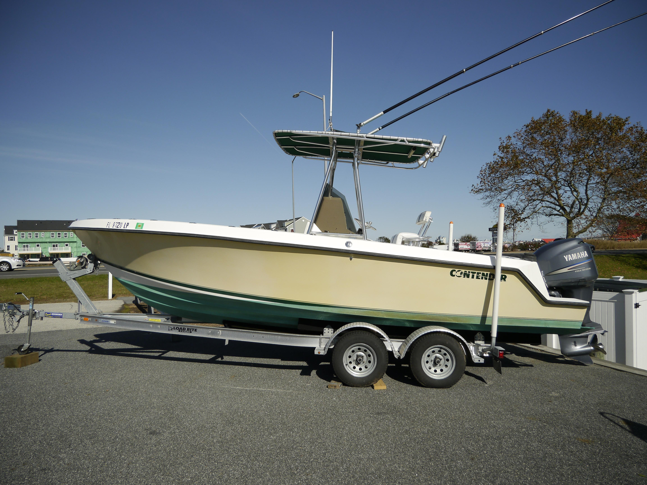 2001 used contender 23 open center console fishing boat for Used center console fishing boats for sale