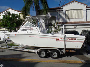 Used Baha Cruisers Fisherman 240 Walkaround Fishing Boat For Sale