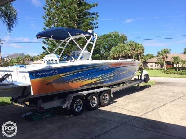 Used Concept Marine 36CC Center Console Fishing Boat For Sale