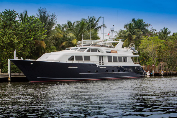 Used Broward RPH Pilothouse Boat For Sale