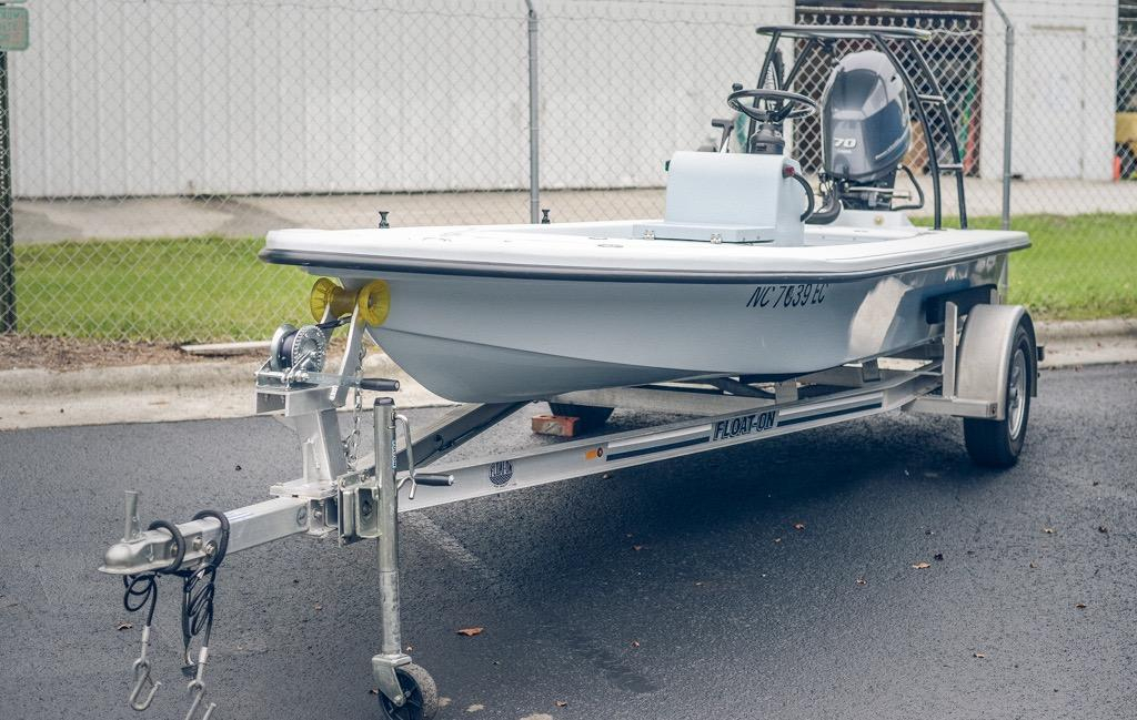 2016 Used Ankona Copperhead Flats Fishing Boat For Sale -  18 900