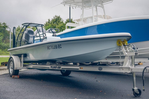 Used Ankona Copperhead Flats Fishing Boat For Sale