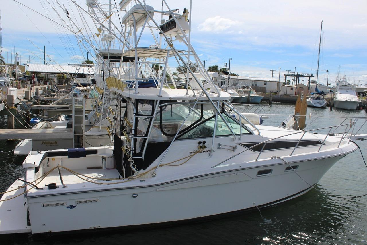 1998 used wellcraft 330 coastal sports fishing boat for for Used fishing boats for sale in florida