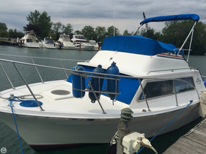 Used Luhrs 280 Flybridge Cruiser Sports Fishing Boat For Sale