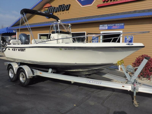 Used Key West 186 Center Console Center Console Fishing Boat For Sale
