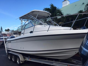 Used Century 2600 Walkaround Sports Fishing Boat For Sale