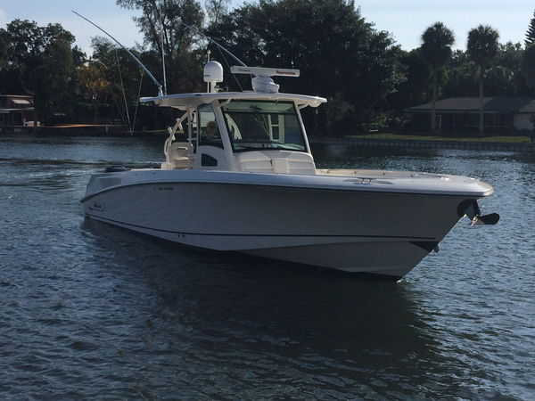Used Boston Whaler 370 Outrage Cc Wlk Around Walkaround Fishing Boat For Sale