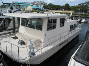 Used Holiday Mansion 35 House Boat For Sale