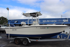 Used Sea Pro 210 Center Console Center Console Fishing Boat For Sale