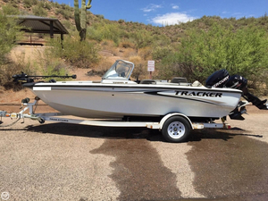 Used Bass Tracker Pro Tundra 18 Bass Boat For Sale