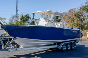 Used Cobia 296 Center Console Saltwater Fishing Boat For Sale