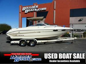 Used Sea Ray 230 Overnighter Signature Select Cuddy Cabin Boat For Sale