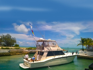 Used Hatteras Sport Fisherman Flybridge Boat For Sale