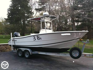 Used Triton 225 CC Center Console Fishing Boat For Sale