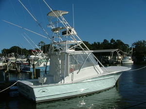 Used Gillikin 32 Custom Express Sports Fishing Boat For Sale
