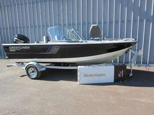 New Crestliner 1650 Fish Hawk WT Dual Console Boat For Sale