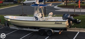 Used Angler Panga 26 Center Console Fishing Boat For Sale