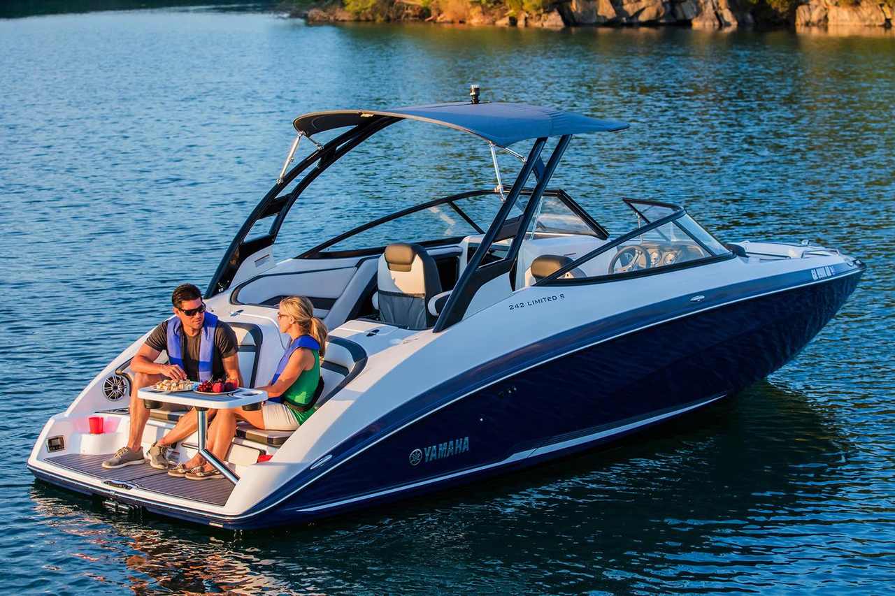 2017 new yamaha 242 limited s jet boat for sale laconia