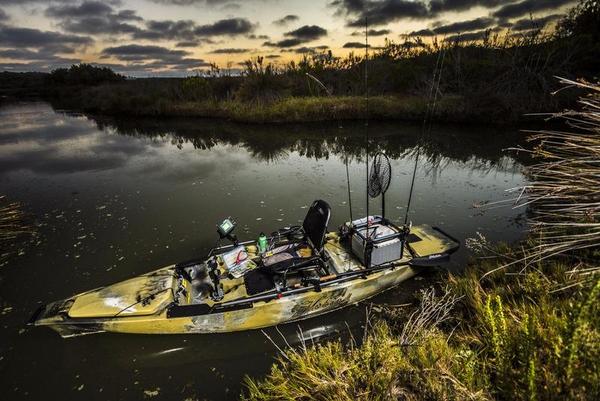 "New Hobie Cat Mirage Pro Angler 14 ""Camo"" Kayak Boat For Sale"