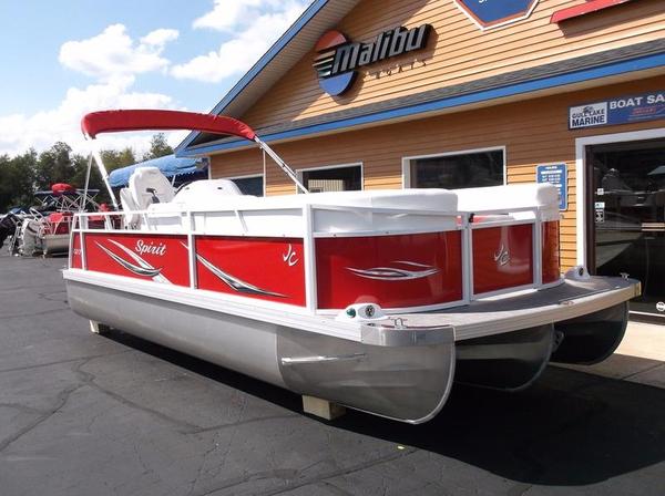 New Jc Tritoon 221 Spirit Sport TT Pontoon Boat For Sale