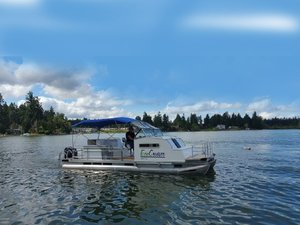 Used Ecocruiser Pontoon Boat For Sale
