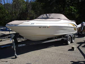 Used Sea Ray 210 Sundeck Deck Boat For Sale