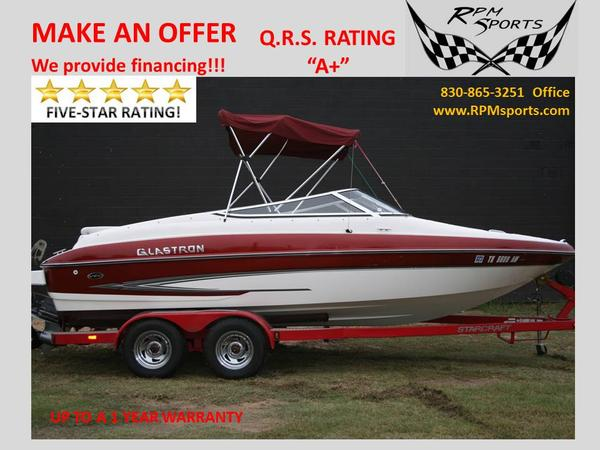Used Glastron GX205 Ski and Wakeboard Boat For Sale