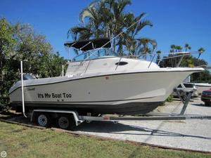 Used Seaswirl 2101 Striper Walkaround Fishing Boat For Sale