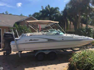Used Hurricane 237 SD Deck Boat For Sale