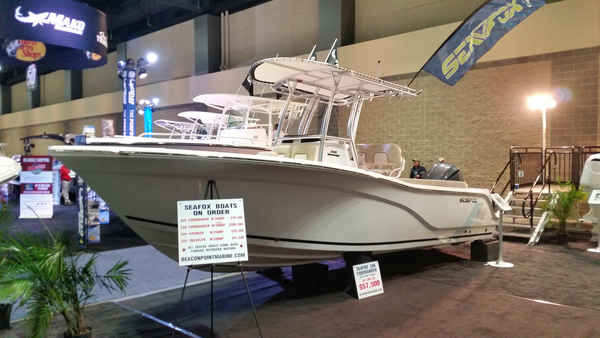New Sea Fox 246 Commander Saltwater Fishing Boat For Sale
