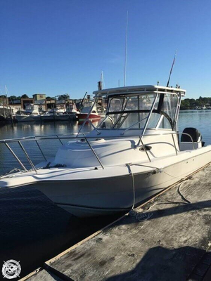 Used Sea Fox 257 Walk Around Walkaround Fishing Boat For Sale