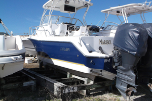 Used Polar 2300 WA Cuddy Cabin Boat For Sale