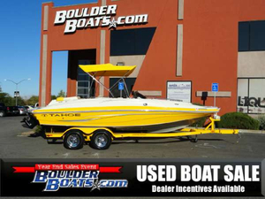 Used Tahoe Boats 215 Xi Deck Boat For Sale