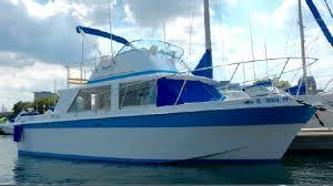Used Uniflight 31 Flybridge Boat For Sale