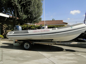 Used Nautica 18 Wide Body RIB Cruiser Boat For Sale