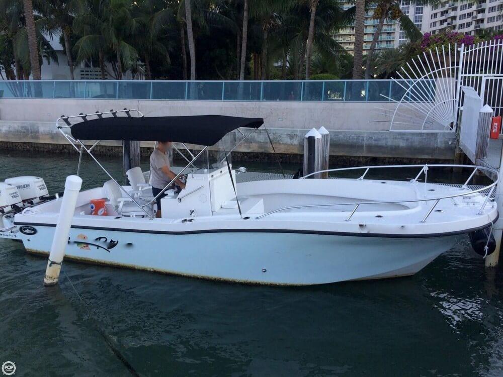 2014 used dusky marine 252 open fisherman center console for Used center console fishing boats for sale