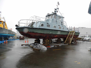 Used Custom Crew Utility Commercial Boat For Sale