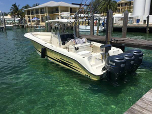 Used Hydra Sports 33 Vector Open Center Console Fishing Boat For Sale