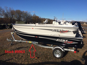 New Alumacraft T14V Sports Fishing Boat For Sale