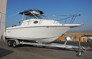 Used Sailfish 234 Cuddy Cabin Boat For Sale