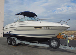 Used Sea Ray 215 Express Crusier Cuddy Cabin Boat For Sale