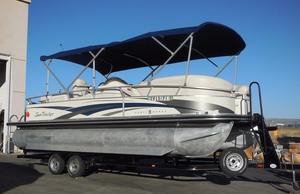 Used Sun Tracker 25 Party Barge Pontoon Boat For Sale