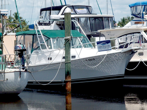 Used Mainship 30 Pilot Soft Top Downeast Fishing Boat For Sale