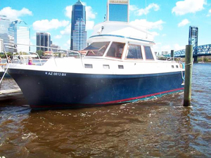 Used Albin 34 Aft Cabin Trawler Boat For Sale