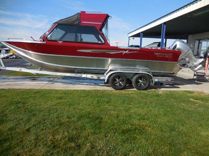 Used Northwest Boats 228 Lightning OB HT Aluminum Fishing Boat For Sale